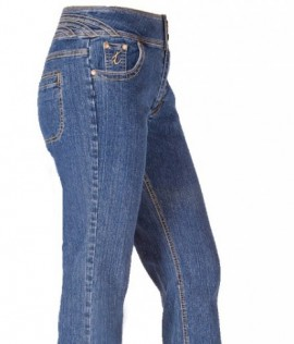 The 'Jess' Jean Straight Leg in Classic Long Rain Denim