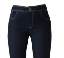 The 'Jess' Jean Roll Up Cuff in Silky Summer Light Weight Denim
