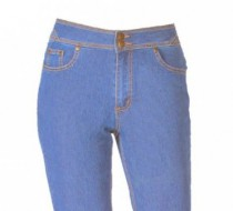 The 'Jess' Jean Straight Leg in Classic Long Rain Denim Summer Blue on Sale