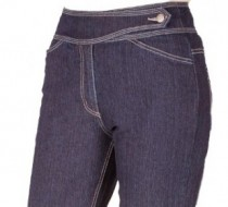 The 'Judy' Jean Straight Leg in Winter Curvy Denim