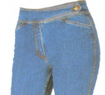 The 'Judy' Jean Straight Leg in Classic Long Rain Denim-Summer Blue On SALE