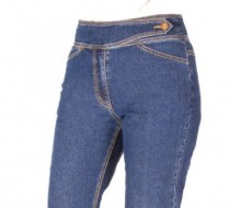 The 'Judy' Jean Straight Leg in Silky Summer Light Weight Denim